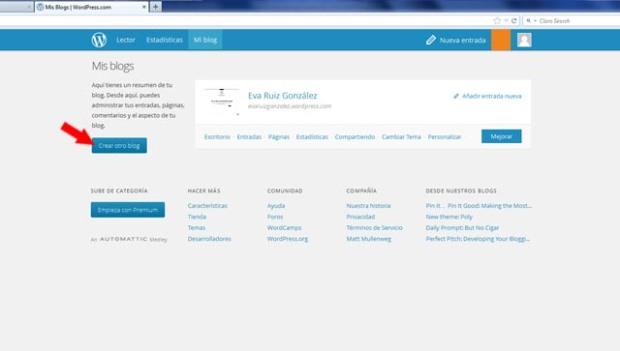 Community Management - Cómo crear un blog en wordpress