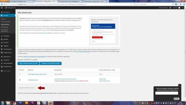 Wordpress desde cero - Escritorio y la Tienda