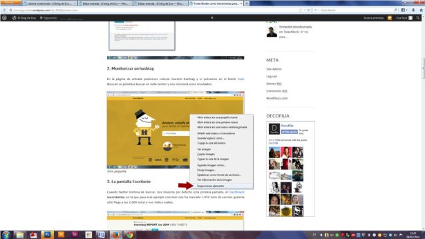 Wordpress para Community Managers - El uso de imágenes en un blog