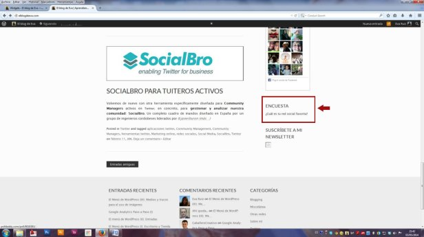 Wordpress para Community Managers - Páginas, Enlaces y Comentarios